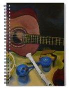 Joie De Vivre  Spiral Notebook