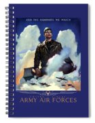 Join The Army Air Forces Spiral Notebook