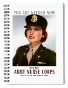 Join The Army Nurse Corps Spiral Notebook