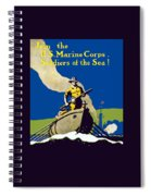 Join The Us Marines Corps Spiral Notebook