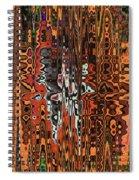 Jojo Abstract Spiral Notebook