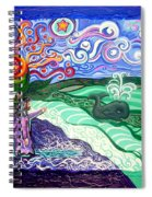 Jonah And The Whale Spiral Notebook