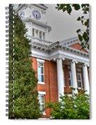 Jonesborough Courthouse Tennessee Spiral Notebook