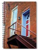Jonesborough Tenessee - Upstairs Neighbors Spiral Notebook