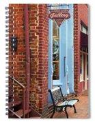 Jonesborough Tennessee Main Street Spiral Notebook