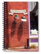 Jonesborough Tennessee - Wedding Shop Spiral Notebook