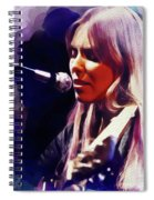 Joni Mitchell, Music Legend Spiral Notebook