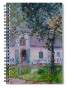 Jonkerhshuis At Groot Constantia Spiral Notebook