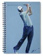 Jordan Spieth  Spiral Notebook