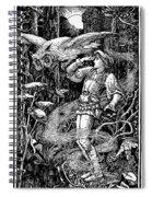 Jorinde And Joringel Spiral Notebook