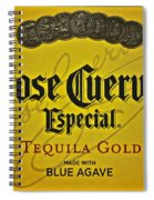 Jose Cuervo Spiral Notebook