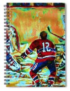 Jose Theodore The Goalkeeper Spiral Notebook