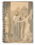 Joseph And Potiphar's Wife Spiral Notebook