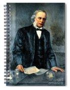 Joseph Lister, Surgeon And Inventor Spiral Notebook