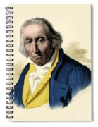 Joseph-marie Jacquard, French Inventor Spiral Notebook