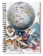 Joseph Pulitzer Cartoon Spiral Notebook