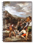 Joseph Sold By His Brothers Spiral Notebook
