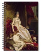 Josephine In Coronation Costume Spiral Notebook