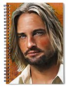 Josh Holloway Spiral Notebook