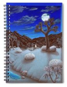 Joshua Tree At Night Spiral Notebook