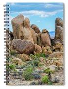 Joshua Tree Boulders Spiral Notebook