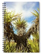 Joshua Tree Claiming To The Heavens Above Spiral Notebook