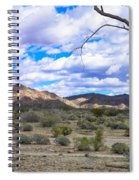 Joshua Tree National Park Landscape Spiral Notebook