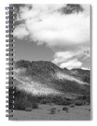 Joshua Tree National Park Tumbleweeds Spiral Notebook