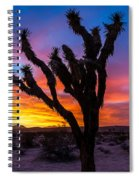 Joshua Tree Silhouette Spiral Notebook