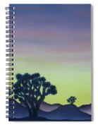 Joshua Tree Sunset Spiral Notebook