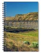Joso High Bridge Over The Snake River Wa 1x2 Ratio Dsc043632415 Spiral Notebook