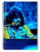 Journey #17 Enhanced In Cosmicolors Spiral Notebook