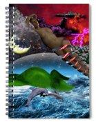 Journey II De Spiral Notebook