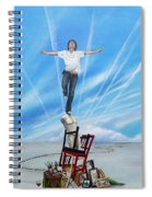 Journey Of A Creative Soul Spiral Notebook