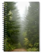Journey Through The Fog Spiral Notebook