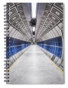 Journey To The Center Of Your Mind Spiral Notebook