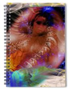 Journey To The Centre Of Man's Mind Spiral Notebook