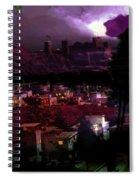 Journeys Through An Innocent Night Spiral Notebook