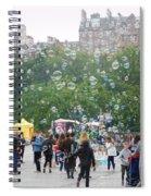 Joy Of Bubbles Spiral Notebook