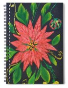 Joy Of Holidays Spiral Notebook