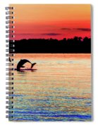 Joy Of The Dance Spiral Notebook