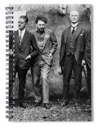 Joyce, Pound, Quinn & Ford Spiral Notebook