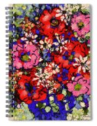 Joyful Flowers Spiral Notebook