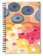 Joyful Garden 3 Spiral Notebook
