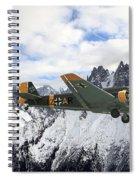 Ju52 - Alpine Passage Spiral Notebook