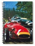 Juan Manuel Fangio Spiral Notebook