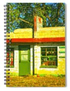 Juarez Motel Spiral Notebook