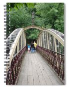 Jubilee Bridge - Matlock Bath Spiral Notebook