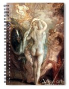 Judgment Of Paris Spiral Notebook