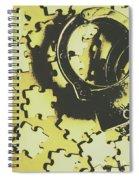 Judicial Jigsaw Spiral Notebook